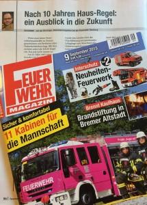 10 Jahre HAUS-Regel - Kolumne im Feuerwehr-Magazin 09-2015