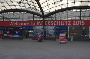 Der Eingangsbereich zur INTERSCHUTZ 2015
