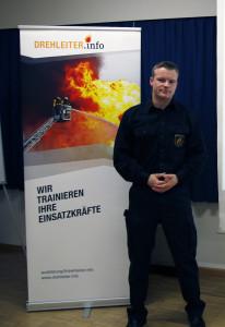 Jörg Thöne, Technik- und Taktikausbilder bei DREHLEITER.info leitete die Veranstaltung.