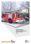 Hubrettungsfahrzeuge im Wintereinsatz – Jetzt ausbilden!