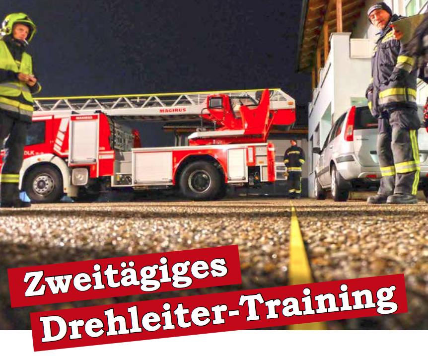DREHLEITER.info mit zweitägigem Training in Rohrbach