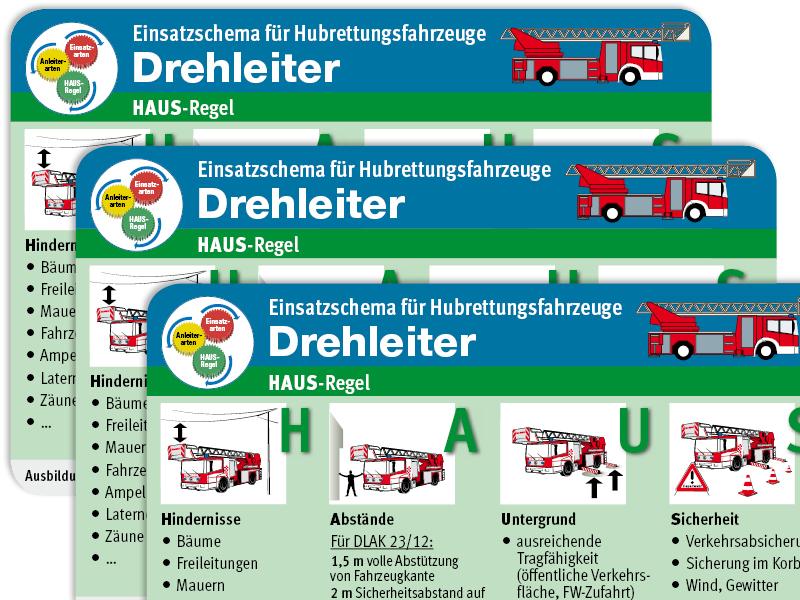 Absolut einsatztauglich: Die Einsatz-Taschenkarte für Hubrettungsfahrzeuge