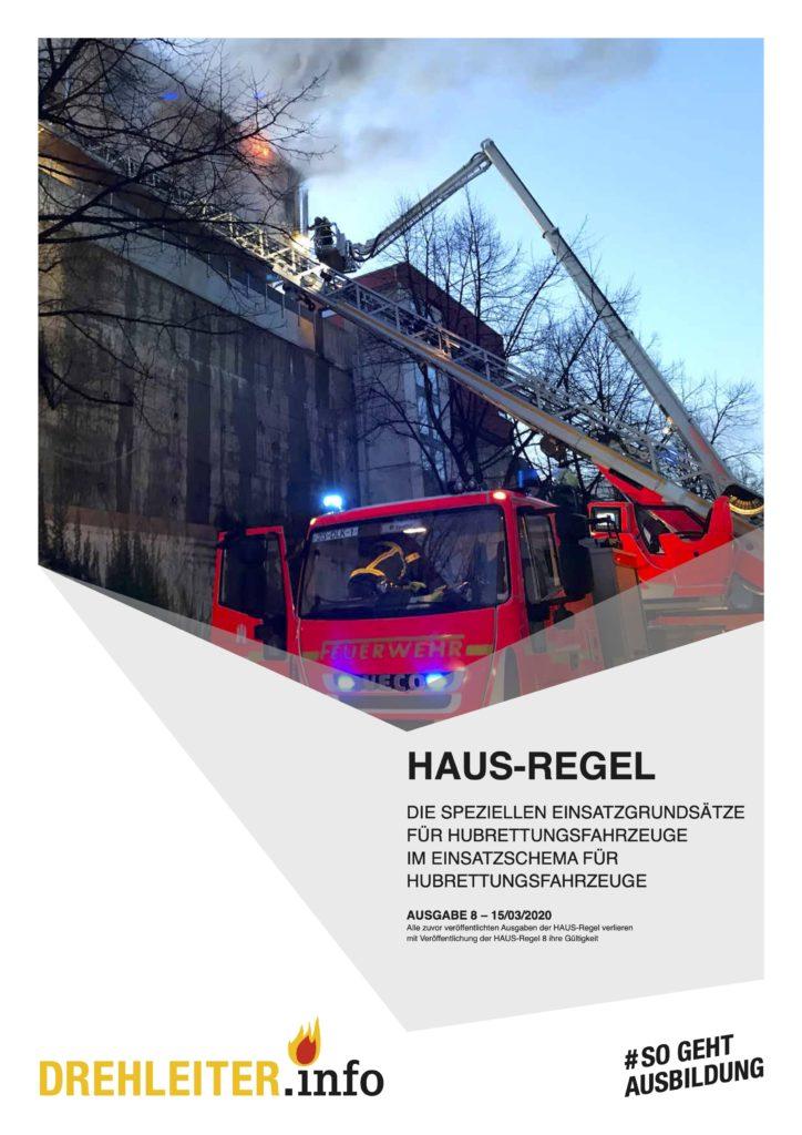 Bild von der Titelseite der HAUS-Regel Version 8