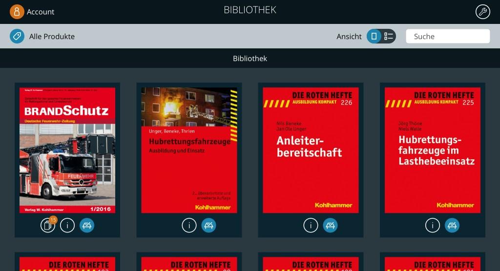 Ausbildung digital: Fachbuch Hubrettungsfahrzeuge jetzt als »eBook« verfügbar