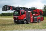 Rosenbauer stellt neue Drehleitern vor: L40A-XS und L27-C