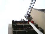 Besondere Magirus DLA (K) 23/12 mit Staffelkabine und Rettungsschlauch in Dienst gestellt